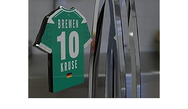 Alemania Bundesliga - camiseta de fútbol imán para nevera - personalizable - diseño de marca nuevo acrílico de camisas., plástico, SV Werder Bremen Football ...