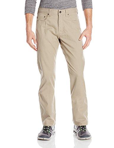 prAna Living Men's Bronson 32-Inch Inseam Pant, 40, Dark Khaki