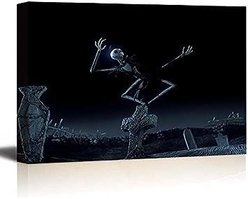 tableau peinture déco murale tête de mort 15