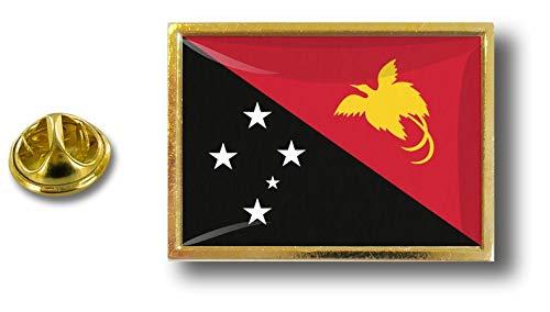 Papuan Badge Metal Flag Pin Pin Guinea Pins Nuova Akacha Papua EwqgXX