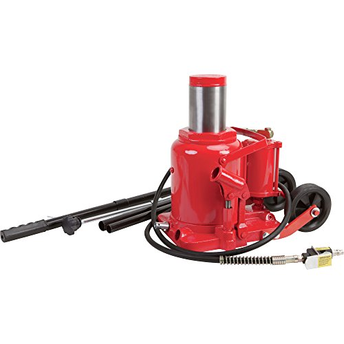 Strongway air hydraulic bottle jack 50 ton capacity 10 for 10 ton air hydraulic floor jack
