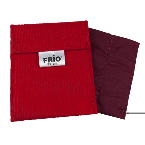 Frio Insulin Cooling Wallets - Water Activated (A-Mini, Red)
