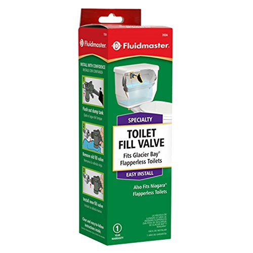 Fluidmaster 703AP4 Fill Valve for Glacier Bay and Niagara ...