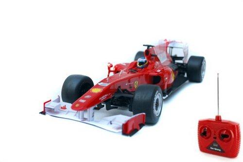 1/18th Scale 2010 Ferrari F10 Radio Remote Control Formula One F1 Racing Car R/C Ready to Run