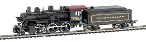 trains Mehano, LOCO MOGUL (2-6-0), PRR #8279 OIL-EU/DCC READY, H0 scale -  T002