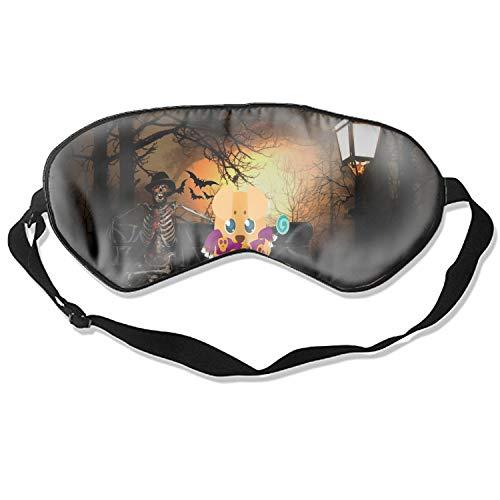 Sleep Mask, Blindfold Super Smooth Eye Mask Scared Halloween Dog Eye Cover for Women Men Comfort Deep Eye Masks ()