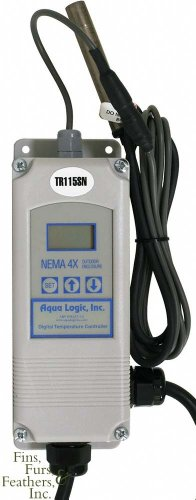 Aqua Logic Digital Temperature Controller - Single