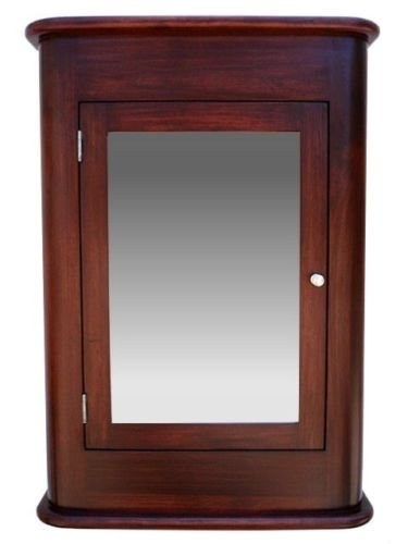 Madrid Medicine Cabinet / Cherry / Solid Wood & handmade / Surface mount by D&E Wood Craft Cabinets (Image #1)