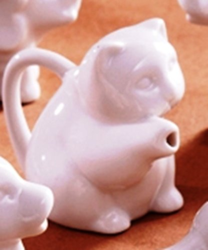Cat Pitcher (Two's Company Animal Kingdom Pitcher, Choice of Styles (cat))