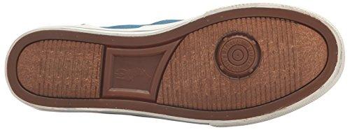 Polo Ralph Lauren Heren Vaughn-gekleurde Denim Sneaker Blauw