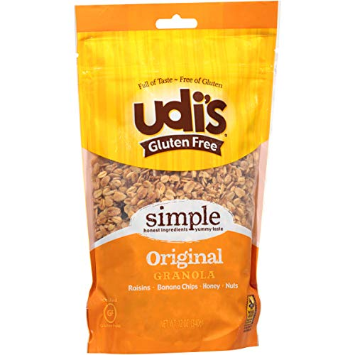 Udi's Gluten Free Simple Original Granola, Dairy Free and Egg Free, 12 ()
