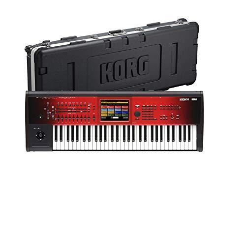 【誠実】 KORG コルグ/ KRONOS2 Special 61 SE KRONOS2 (KRONOS Special Edition) B07NGPT4XG【ハードケースセット!】61鍵盤ワークステーション B07NGPT4XG, ヨシキグン:15529737 --- adornedu.com