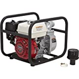 water pump honda - NorthStar Semi-Trash Pump - 2in. Ports, 10,010 GPH, 5/8in. Solids Capacity, 160cc Honda GX160 Engine