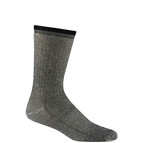 Wigwam S2322 Women's Merino Comfort Hiker 2 Pack Socks, Black - MD