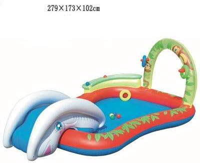 TYYM Piscina para Bebés Piscina para Niños Piscina Inflable De Bolas Marinas Pesca De Arena Engrosada Piscina para Niños Juguetes Inflables Regalos para Niños 21: Amazon.es: Hogar