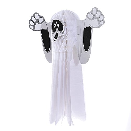 Ferryman Hanging Ghost Halloween and Party Decoration(White)