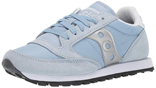 Saucony Originals Women's Jazz Lowpro Sneaker Blue Fog/Silver 9 M US