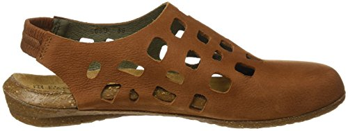 El Naturalista Damen N5060 Pleasant Wakataua Closed-Toe Sandalen Braun (Wood)