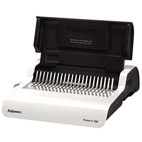 Fellowes BINDING MACH PULSAR E 300 COMB HOME OFFICE (Galaxy Electric Comb)