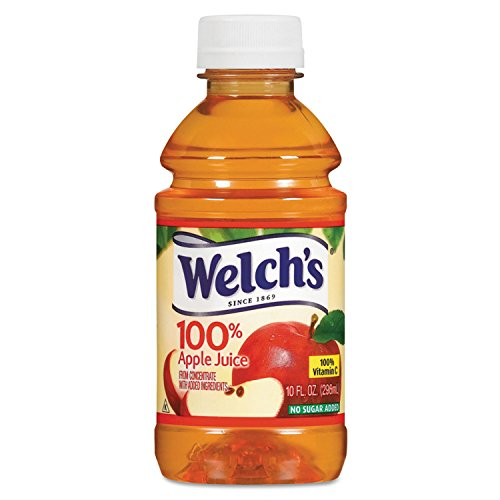- Welch's Apple Juice, 10 oz - Pack of 24