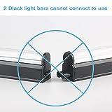 Black Light Bar 2 Pack, 10W 1ft USB Portable UV Led