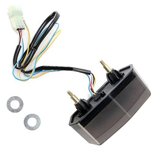 Moto MPH LEDテールライト ブラックアウト 14年 グロム 2010-1207 MPH-30127B B01M1NGHGG