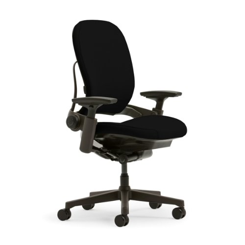 Steelcase Leap Plus Chair, Black Fabric for sale  Delivered anywhere in USA