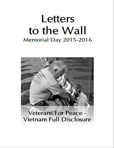 (Letters to the Wall: Memorial Day Events 2015 and 2016)
