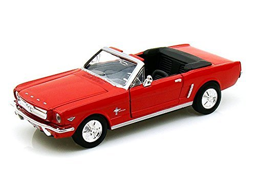 1964 1/2 Ford Mustang Convertible 1/24 Red