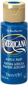 DecoArt Americana Acrylic Paint, 2-Ounce, True Blue
