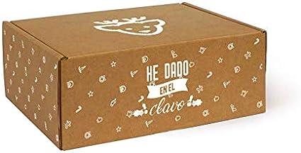 Caja de Cartón Navidad Renos T05 pack de 10 unidades.: Amazon.es ...