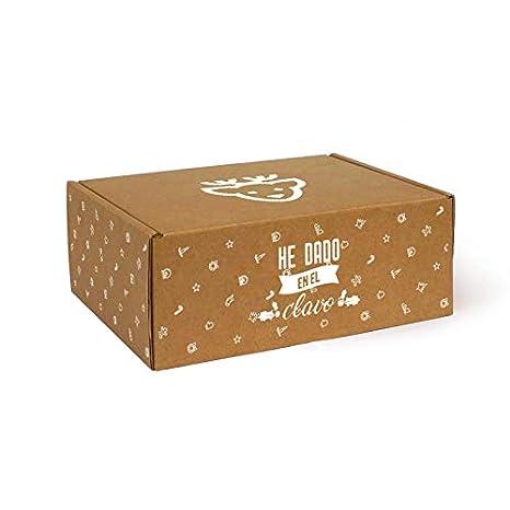 Caja de Cartón Navidad Renos T05 pack de 10 unidades.: Amazon.es: Oficina y papelería