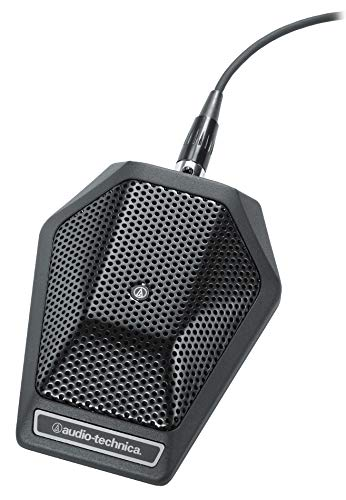 Audio Technica U851R Unipoint Cardioid Condenser Boundary Microphone in Black