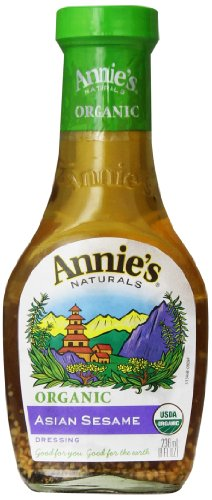 - Annie's Naturals Asian Sesame Dressing - Organic, 8-Ounce (Pack of 6)