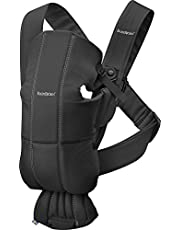 BABYBJÖRN Baby Carrier Mini, Cotton, Black