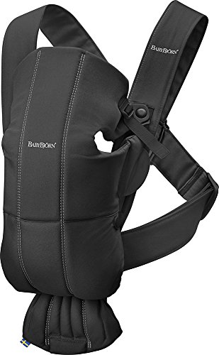 BABYBJORN Baby Carrier Mini in Cotton, Black