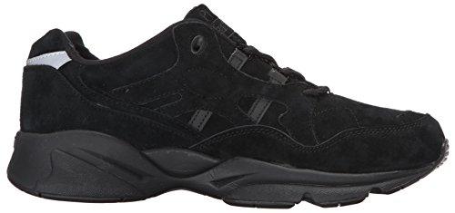 Propet Vrouwen Stabiliteit Walker Sneaker Zwart Suede