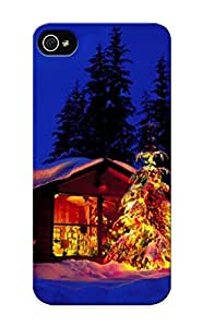 Chdlsk-3558-cDWdI Anti-scratch Case Cover Standinmyside Protective Cottage With Lights Case For Iphone 5/5s