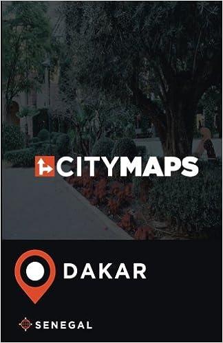 Dakar City Map on