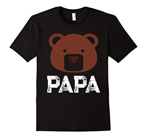 Mens Papa Bear T-shirt Vintage 2XL (Mama And Papa Bear Costume)
