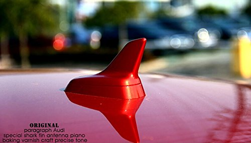 OEM Replacement Shark Fin Roof Top Antenna Red Decorative for Audi Sedan SUV A3 A4 A5 A6 Q3 Q5 Q7