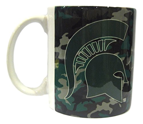 Boelter Michigan State Spartans 11 Ounce Camouflage Coffee Mug