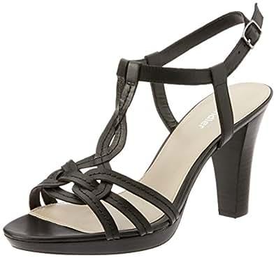 Sandler Cobra Women Shoes,Black Glove,5
