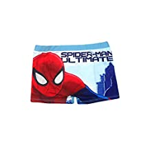 Disney Boys Spiderman Swimming Shorts 4 to 8 Years