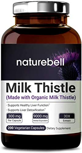 Organic Thistle Extract Capsules Strength