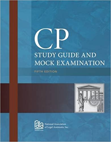 CP Study Guide and Mock Examination: Inc. National Association of ...
