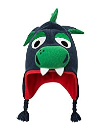 Mountain Warehouse Dragon Kids Character Hat - Fun Warm Winter Beanie