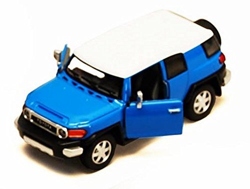 Toyota FJ Cruiser SUV, Blue - Kinsmart 5343D - 1/36 scale Diecast Model Toy Car (Brand New, but NO (Blue Suv)