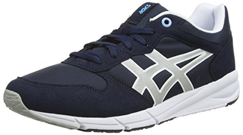 Sneakers Mixte Grey Runner light Adulte Bleu Shaw Asics 5013 Basses navy PEaqwRIx