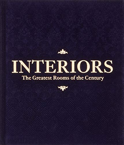 Interiors, the greatest rooms of the century,(Midnight Blue edition) por With an introduction William Norwich
